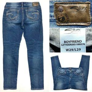 Silver Jeans Boyfriend